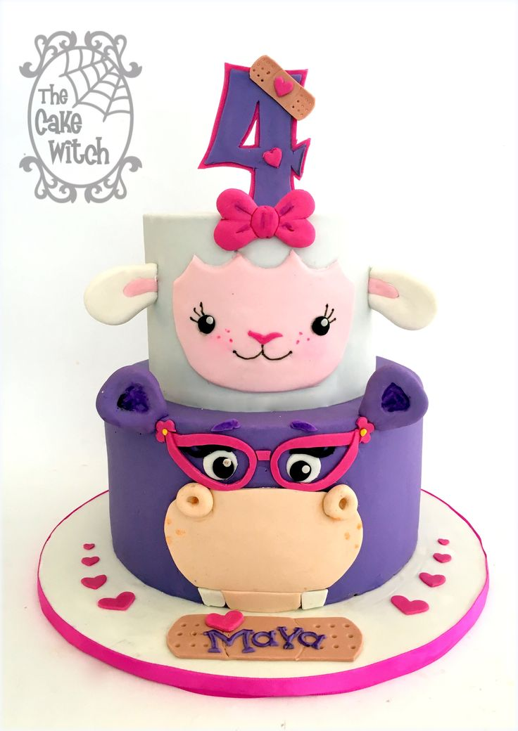 Magnificent Birthday Cakes Doc Mcstuffins Cake Yesbirthday Home Of Personalised Birthday Cards Bromeletsinfo