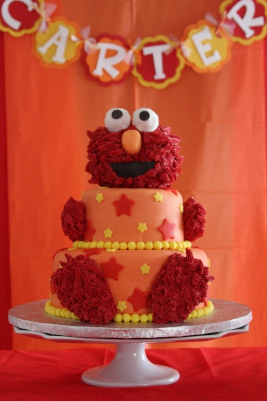 Birthday Cakes Elmo Cake Ideas From 3 Different Cakes