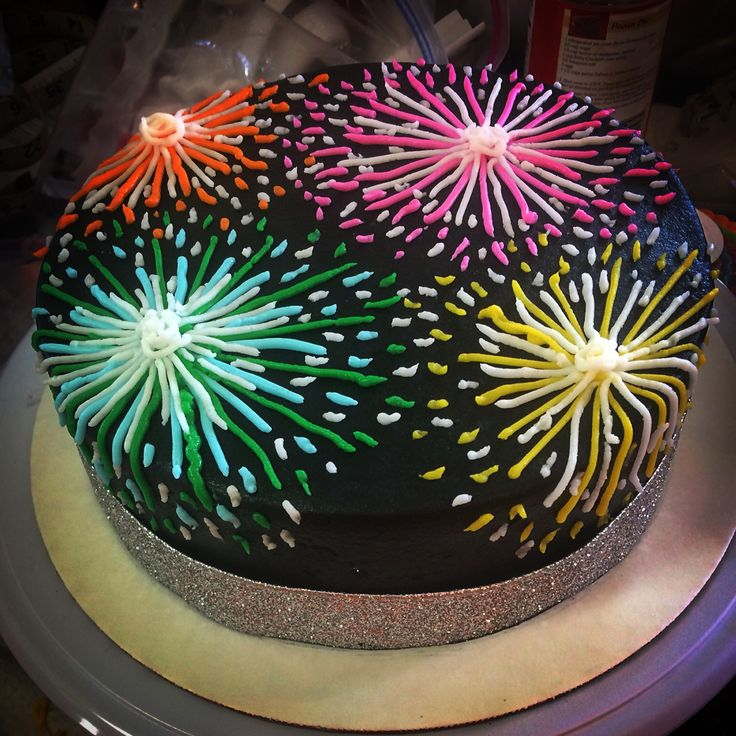 Sensational Birthday Cakes Fireworks Cake Yesbirthday Home Of Birthday Funny Birthday Cards Online Alyptdamsfinfo