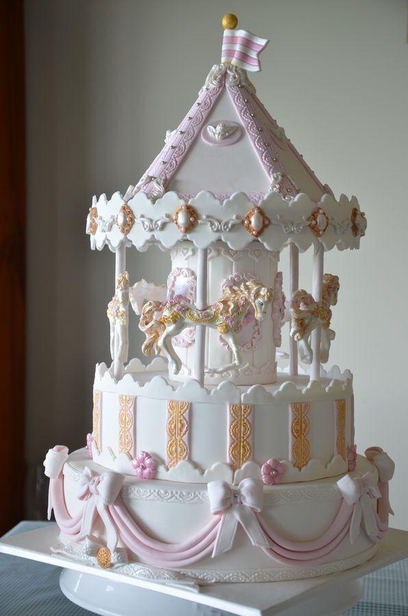 Wondrous Birthday Cakes French Carousel Yesbirthday Home Of Birthday Birthday Cards Printable Benkemecafe Filternl