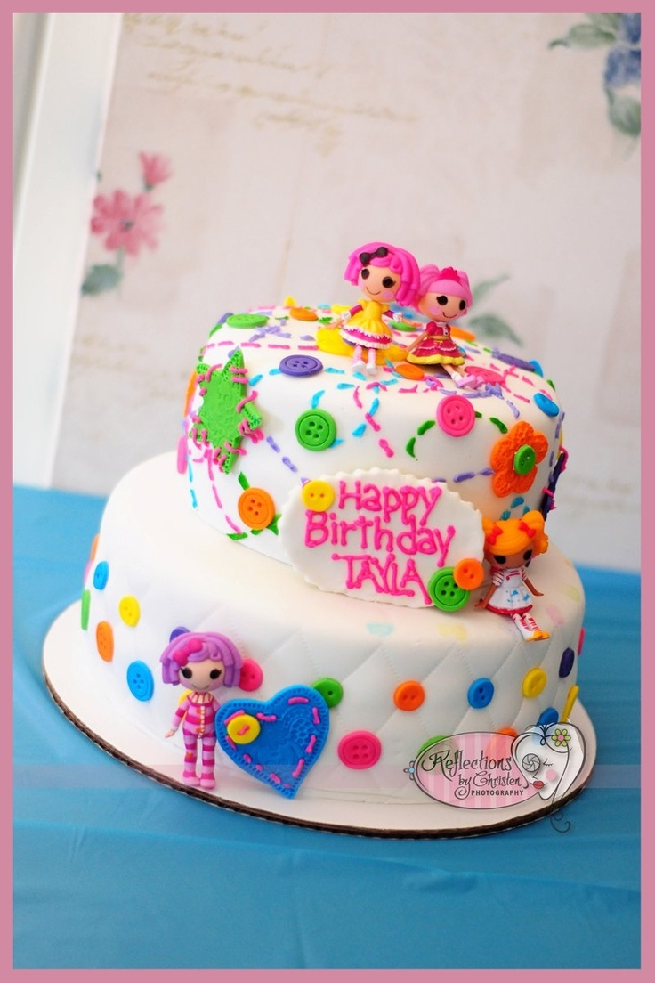 Surprising Birthday Cakes Lalaloopsy Cake Idea Yesbirthday Home Of Personalised Birthday Cards Rectzonderlifede