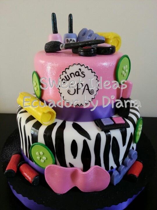 Phenomenal Birthday Cakes Lilahs Spa Cake Yesbirthday Home Of Birthday Funny Birthday Cards Online Necthendildamsfinfo