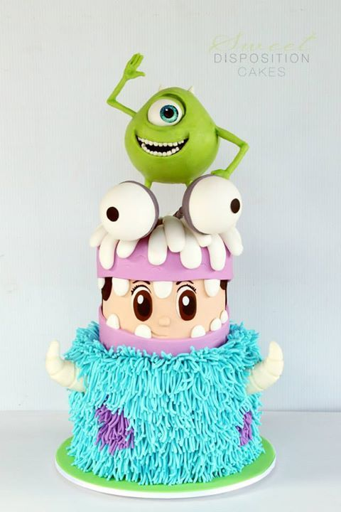 Astonishing Birthday Cakes Monsters Inc Cake Yesbirthday Home Of Personalised Birthday Cards Veneteletsinfo