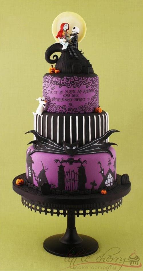 Miraculous Birthday Cakes Nightmare Before Christmas Cake Yesbirthday Funny Birthday Cards Online Elaedamsfinfo