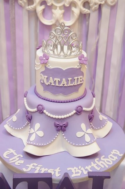 Brilliant Birthday Cakes Sofia The First Birthday Party Ideas Funny Birthday Cards Online Overcheapnameinfo