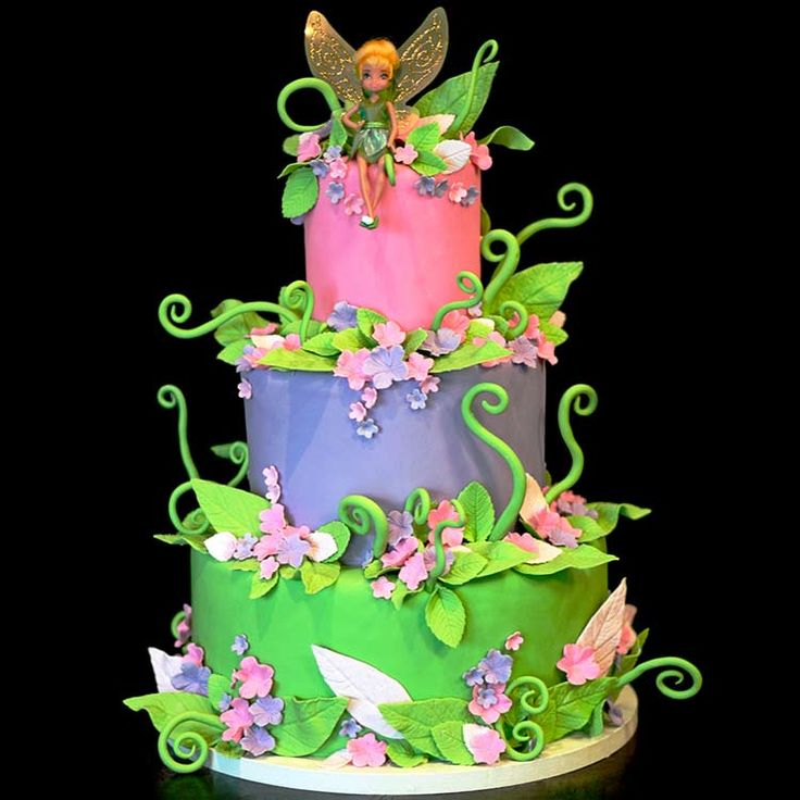 Fantastic Birthday Cakes Southern Blue Celebrations Tinkerbell Pirate Funny Birthday Cards Online Elaedamsfinfo
