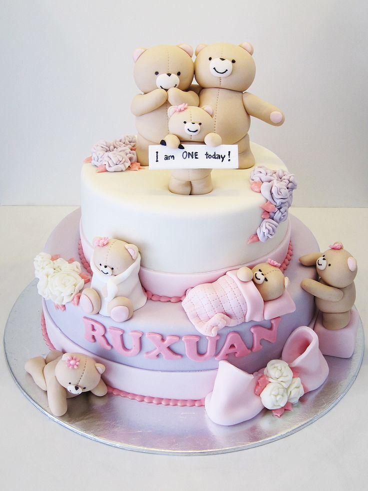 Birthday Cakes Teddy Bear Cake