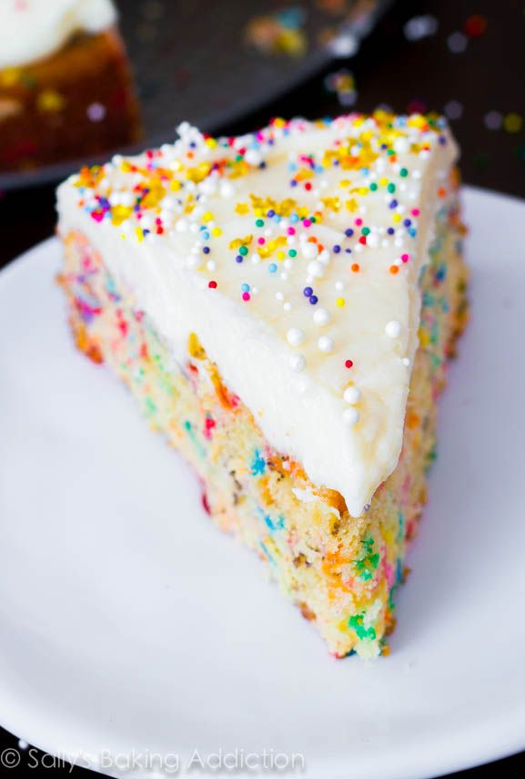 Sensational Birthday Cakes This Is The Best Homemade Funfetti Cake Recipe By Birthday Cards Printable Nowaargucafe Filternl