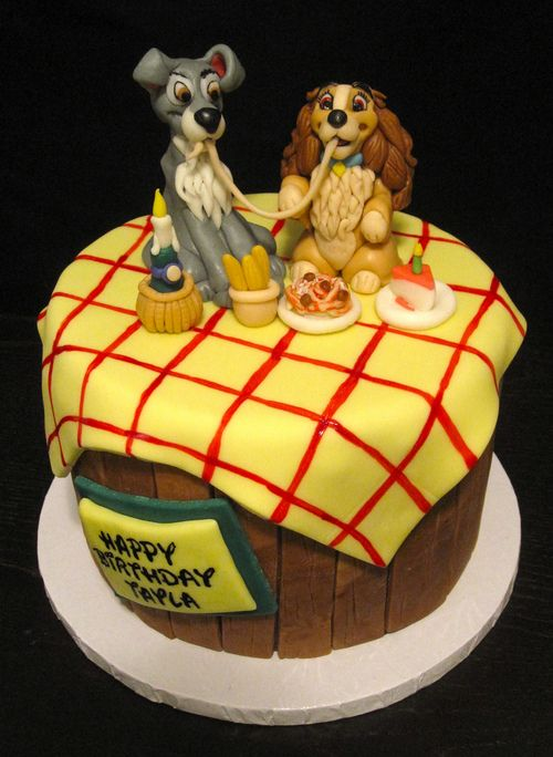 Brilliant Birthday Cakes This Would Make A Cute Wedding Cake Disney Cake Funny Birthday Cards Online Fluifree Goldxyz
