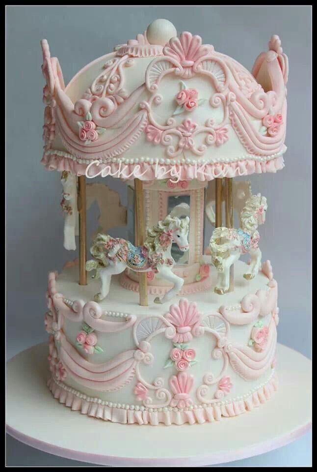 Strange Birthday Cakes Carousel Cake Yesbirthday Home Of Birthday Personalised Birthday Cards Akebfashionlily Jamesorg