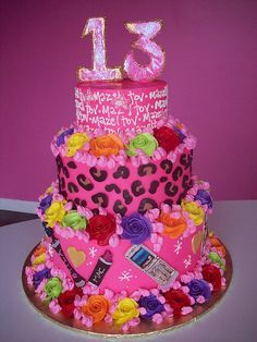 Astonishing Birthday Cakes Cool Birthday Party Ideas For 13 Year Olds Funny Birthday Cards Online Inifodamsfinfo
