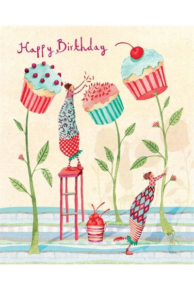 Birthday Quotes : Cupcake flowers by Holly Clifton Brown I ...