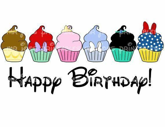 birthday quotes disney cupcake design home of