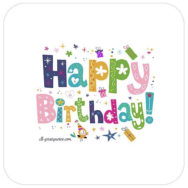 Birthday Quotes Happy Birthday Animated Gif Facebook Cards Free