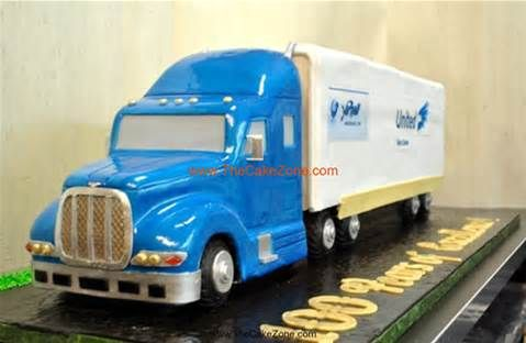 Wondrous Birthday Cakes 18Wheeler Semi Truck 3D Cake The Cake Zone Fl 13 Funny Birthday Cards Online Alyptdamsfinfo