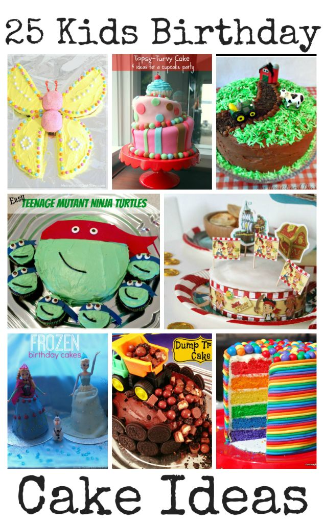 Outstanding Birthday Cakes 25 Awesome Kids Birthday Cake Ideas Yesbirthday Funny Birthday Cards Online Alyptdamsfinfo