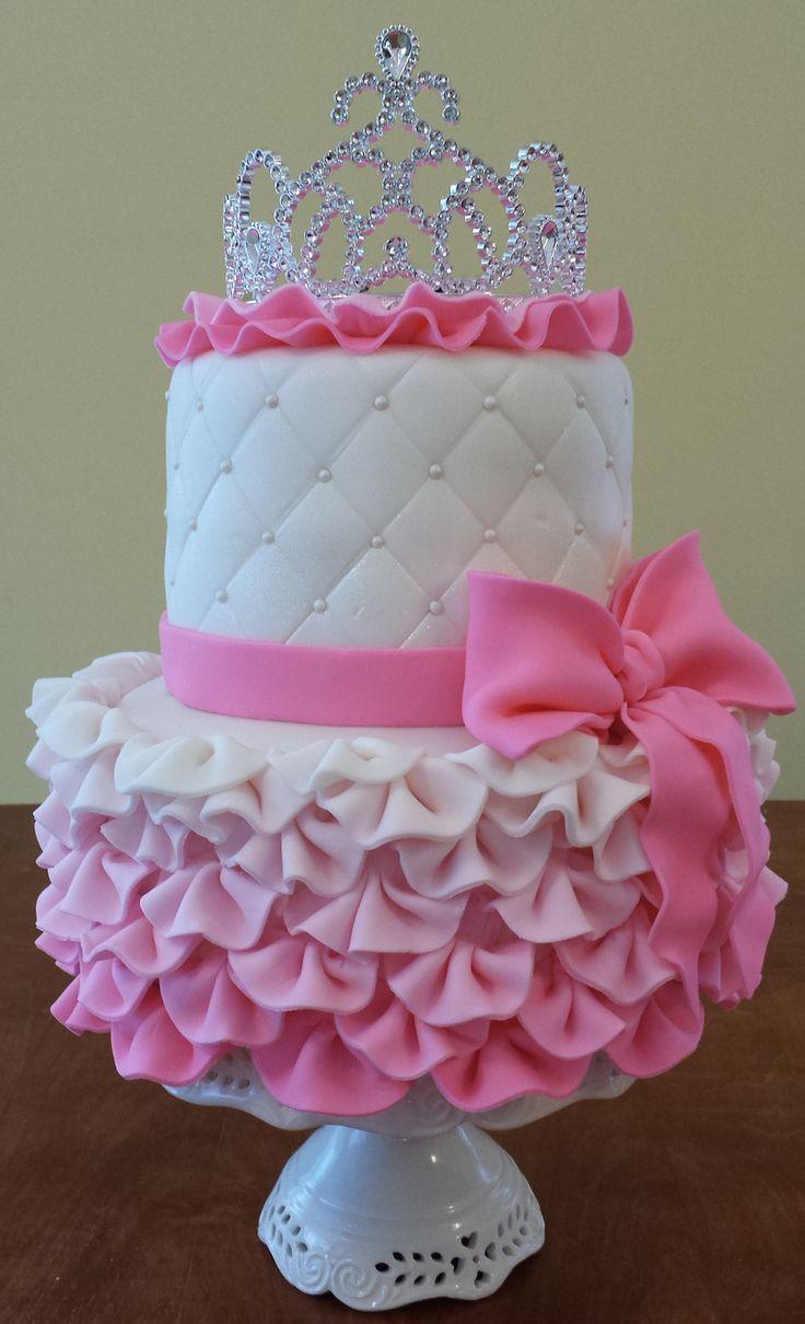 Superb Birthday Cakes Cake Blog Princess Cake Tutorial Yesbirthday Funny Birthday Cards Online Aboleapandamsfinfo