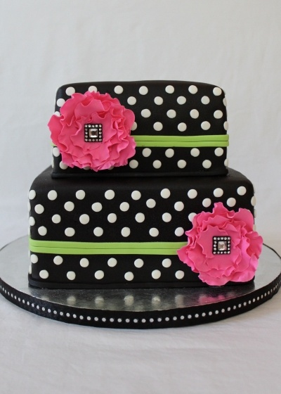 Fabulous Birthday Cakes Cake Is Covered In Fondant With Fondant Birthday Cards Printable Inklcafe Filternl