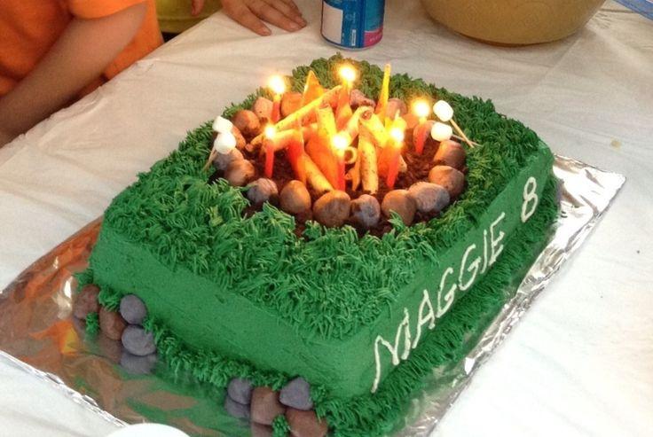 Wondrous Birthday Cakes Campfire Cake Yesbirthday Home Of Birthday Birthday Cards Printable Nowaargucafe Filternl