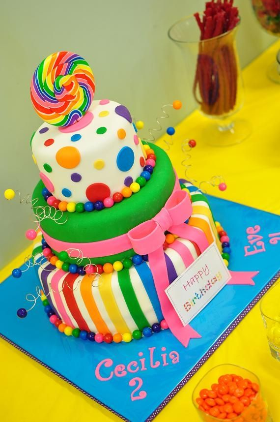 Amazing Birthday Cakes Candyland Cake Fun Yesbirthday Home Of Funny Birthday Cards Online Overcheapnameinfo