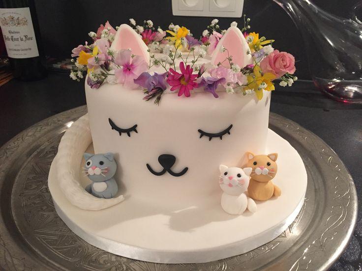 Fantastic Birthday Cakes Cat Cake Yesbirthday Home Of Birthday Wishes Funny Birthday Cards Online Fluifree Goldxyz