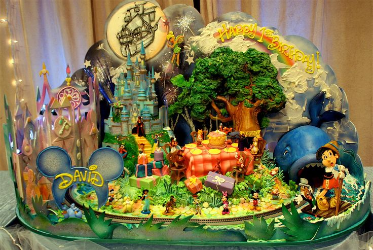 Wondrous Birthday Cakes Disney World I Love It My Next Birthday Cake Funny Birthday Cards Online Bapapcheapnameinfo