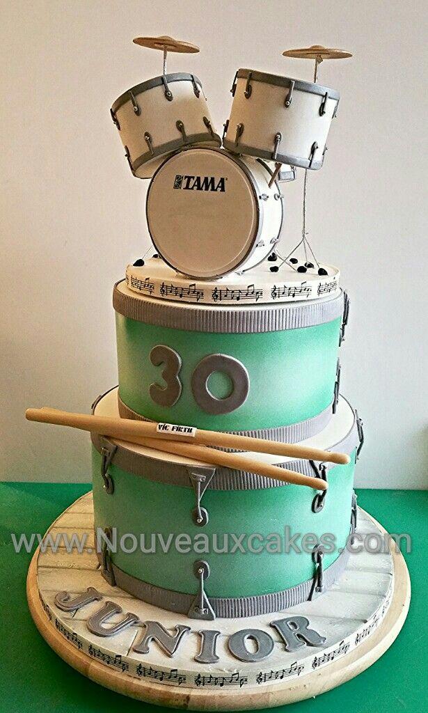Admirable Birthday Cakes Drum Kit Cake Yesbirthday Home Of Birthday Funny Birthday Cards Online Bapapcheapnameinfo