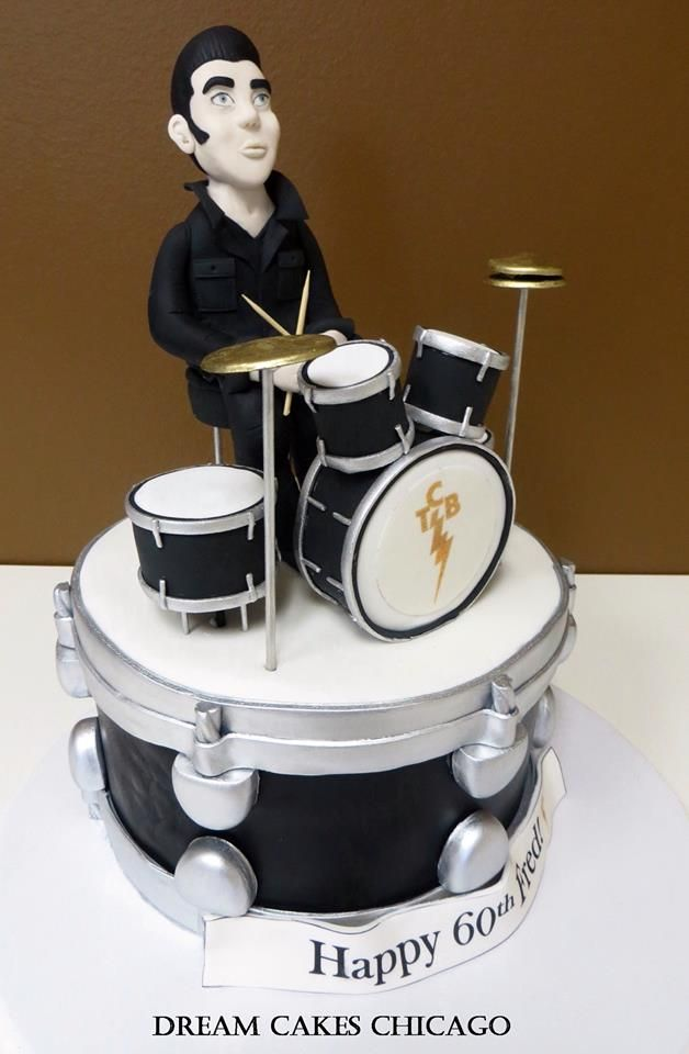 Marvelous Birthday Cakes Elvis Drum Cake Yesbirthday Home Of Birthday Personalised Birthday Cards Paralily Jamesorg