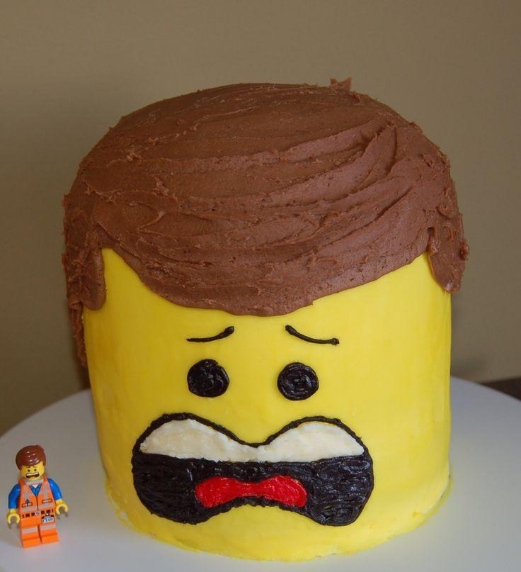 Prime Birthday Cakes Emmett From The New Lego Movie Yesbirthday Birthday Cards Printable Trancafe Filternl