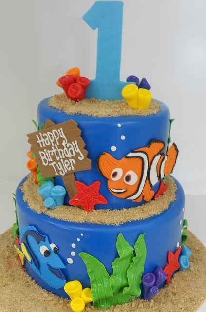 Prime Birthday Cakes Finding Nemo Birthday Cake 1663 Yesbirthday Funny Birthday Cards Online Alyptdamsfinfo