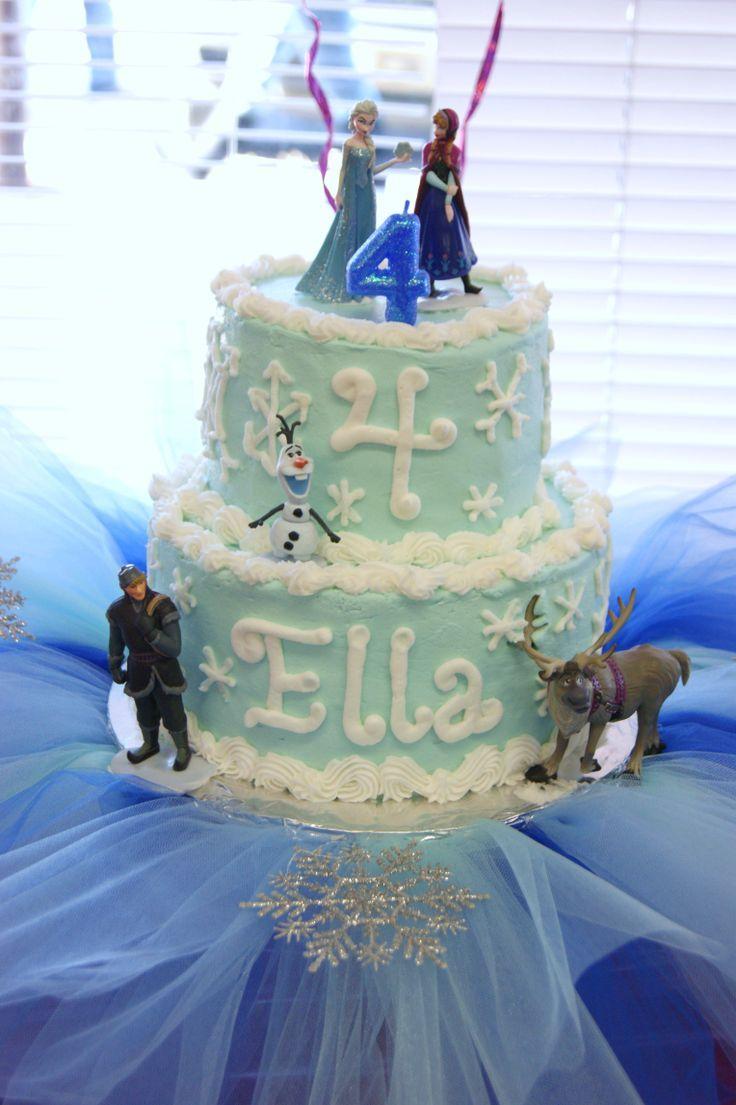 Cool Birthday Cakes Frozen Cake Ideas Ellas Frozen Birthday Cake Funny Birthday Cards Online Elaedamsfinfo