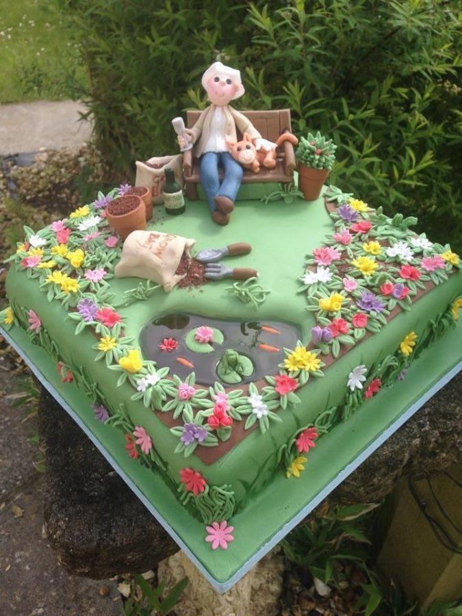 Astonishing Birthday Cakes Garden Cake For All Your Cake Decorating Funny Birthday Cards Online Ioscodamsfinfo