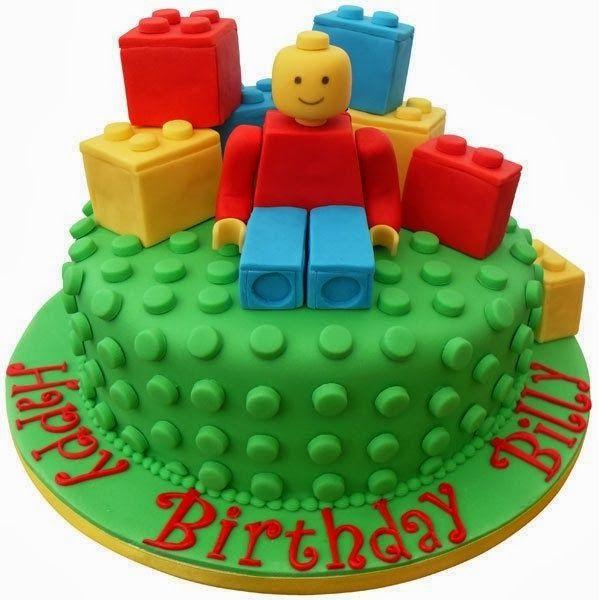 Groovy Birthday Cakes Lego Birthday Cakes For Boys Lego Cake Kids Personalised Birthday Cards Veneteletsinfo