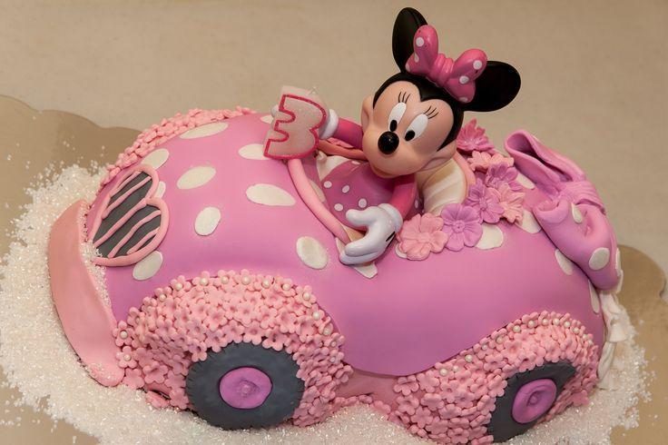 Brilliant Birthday Cakes Minnie Mouse Birthday Cake Amazing Birthday Cards Printable Inklcafe Filternl