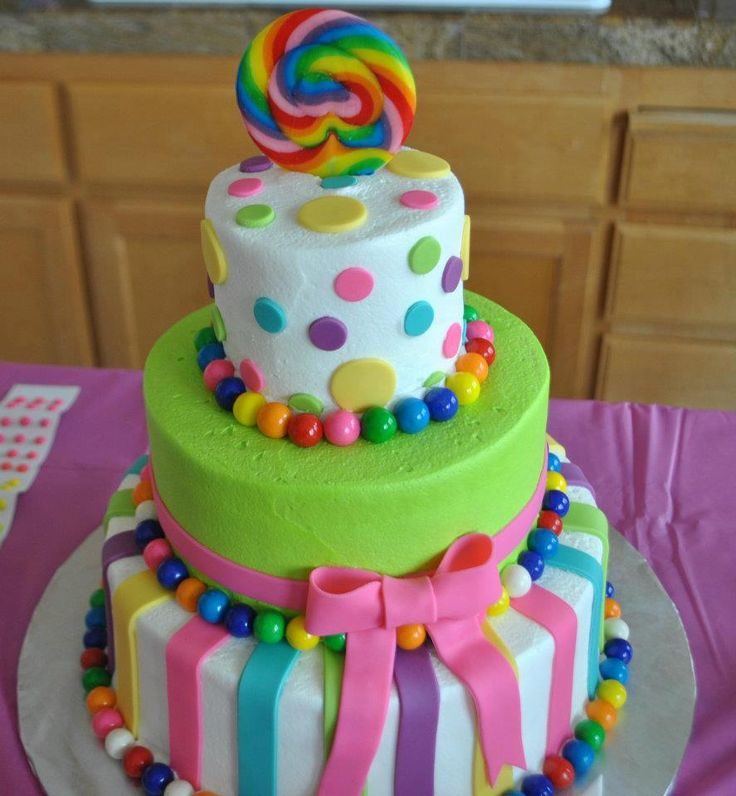Birthday Cakes SO Cute And Easy Candyland Cake