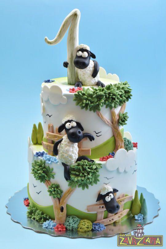 Brilliant Birthday Cakes Shaun The Sheep Cake Yesbirthday Home Of Funny Birthday Cards Online Benoljebrpdamsfinfo