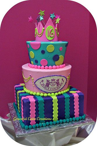 Marvelous Birthday Cakes Sweet 16 Birthday Cake Yesbirthday Home Of Personalised Birthday Cards Veneteletsinfo