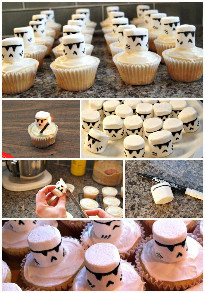 Marvelous Birthday Cakes The Easiest Way To Make Clone And Stormtrooper Personalised Birthday Cards Paralily Jamesorg