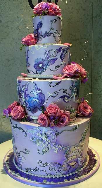 Birthday Cakes : This has to be one of the prettiest cakes EVER ...