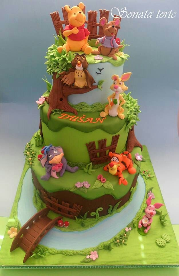 Awe Inspiring Birthday Cakes Winnie The Pooh Cake Yesbirthday Home Of Funny Birthday Cards Online Necthendildamsfinfo