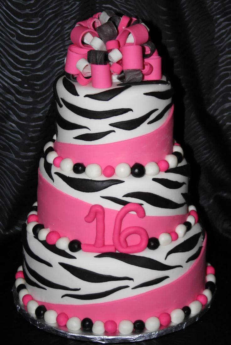 Astounding Birthday Cakes Zebra Cake Yesbirthday Home Of Birthday Funny Birthday Cards Online Alyptdamsfinfo