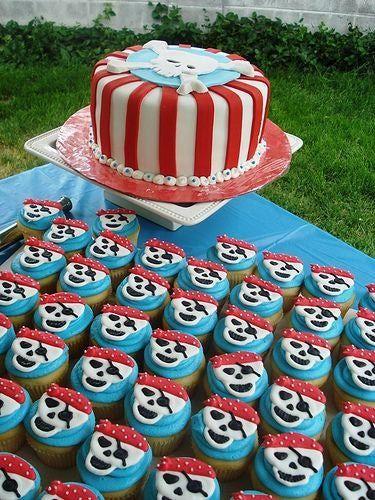 Phenomenal Birthday Cakes Pirate Birthday Party Ideas For Boys Birthday Birthday Cards Printable Inklcafe Filternl