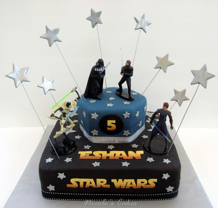 Groovy Birthday Cakes Star Wars Birthday Ideas Best Star Wars Funny Birthday Cards Online Eattedamsfinfo