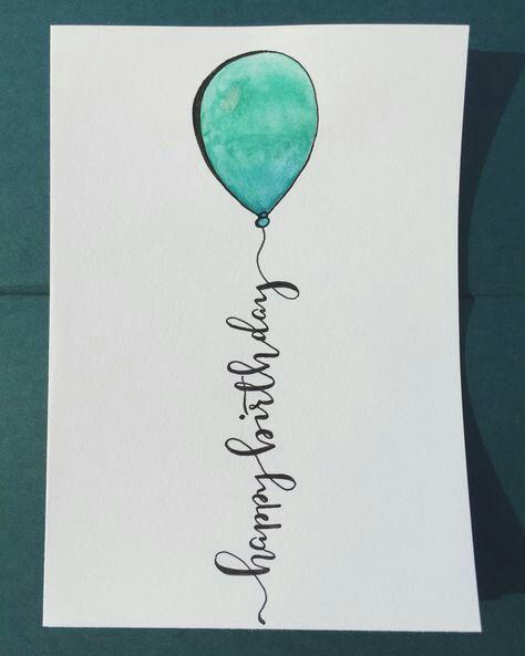 Description Happy Birthday Balloon