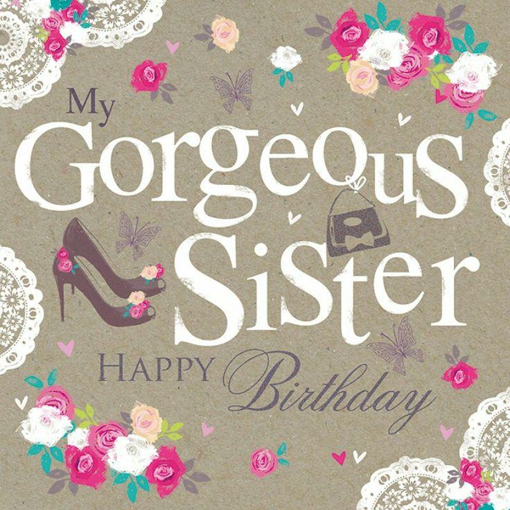 Swell Birthday Quotes My Gorgeous Sister Happy Birthday Yesbirthday Funny Birthday Cards Online Necthendildamsfinfo