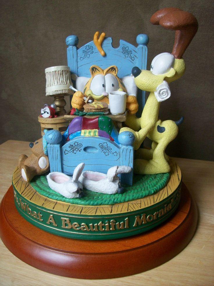 Incredible Birthday Cakes Danbury Mint Garfield Figurines 1994 Danbury Personalised Birthday Cards Veneteletsinfo