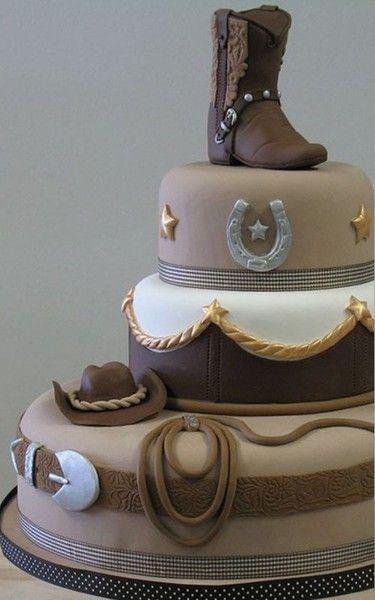 Fantastic Birthday Cakes Cowboy Cake Yesbirthday Home Of Birthday Funny Birthday Cards Online Inifofree Goldxyz