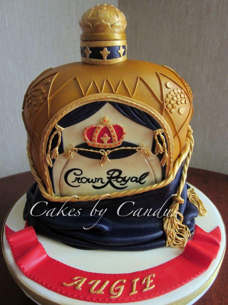 Peachy Birthday Cakes Crown Royal Cake Yesbirthday Home Of Birthday Funny Birthday Cards Online Kookostrdamsfinfo