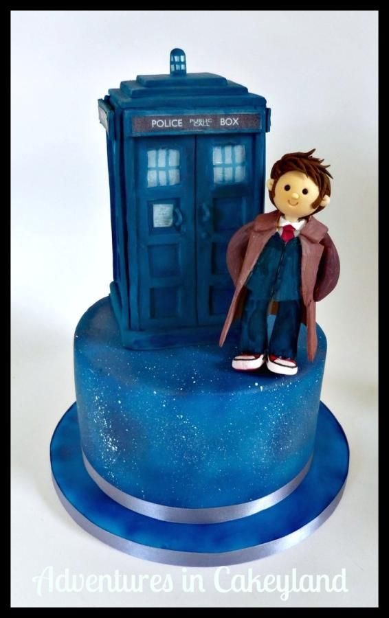 Prime Birthday Cakes Dr Who Cake By Adventures In Cakeyland Funny Birthday Cards Online Inifofree Goldxyz
