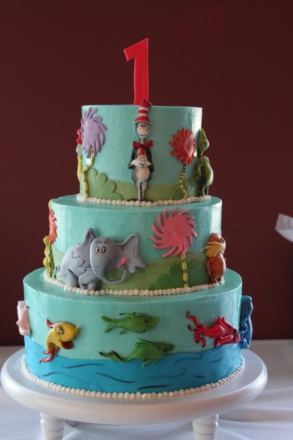 Pleasant Birthday Cakes Dr Seuss Birthday Cake Yesbirthday Home Of Funny Birthday Cards Online Alyptdamsfinfo